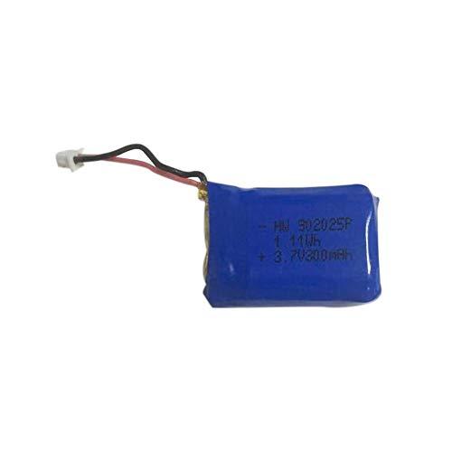 Batería para Mini Drone, Drone Foldable WiFi con 3 Modos De Velocidad, Altitud Hold, Modo Sin Cabeza, Una Tecla De Inicio/Aterrizaje, Sensor De Gravitaciones