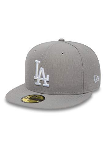New Era Los Angeles Dodgers Cap Mlb Basic Grey / White - 7 - 56cm