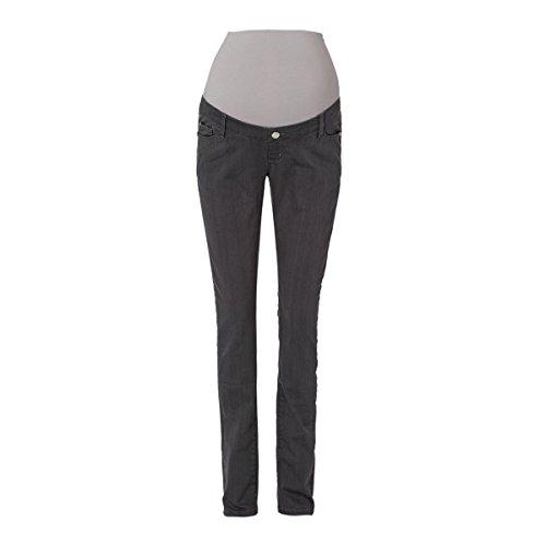 2HEARTS Umstandshose Powerstretch We Love Basics - Hose in schmaler Passform mit Oberbauchbund aus Jersey, 5-Pocket-Style & Gürtelschlaufen