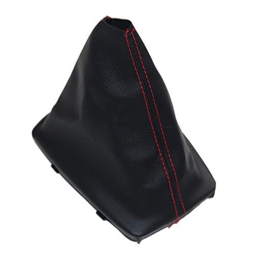 ZZSSHENG Zsheng Red Line Coche Gear Shift KNOB Gaiter Cubierta DE BOTER FIT for Audi A4 8E B6 B7 2000 2001 2002 2003 2004 2005 2006 2007 2008 (Color Name : Gear Boot)