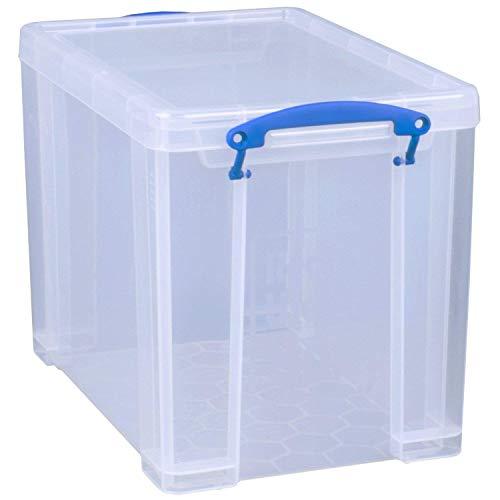 Really Useful Box Lot de 3 sacs de 19 litres - 39,5 x 25,5 x 29 cm - Transparents.