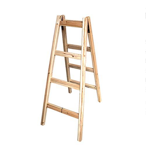 Escalera plegable con aislamiento completo, escalera de madera, escalera de seguridad exterior, escalera de construcción, escalera de confección, escalera, peso: 6 kg, multifunción.