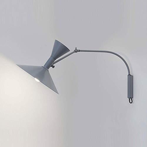 Nemo Lighting Lampe de Marseille Mini Applique grise mat