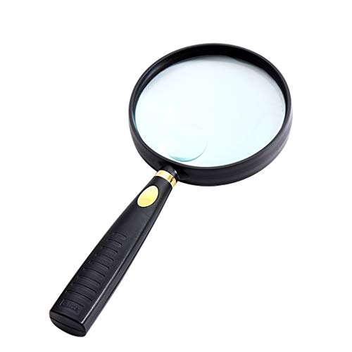 Lijianfeng 10-Fach-Vergrößerungsglas 20-Fach Alter Mann Hochauflösendes optisches Objektiv mit hoher Auflösung zum Lesen von Vergrößerungsspiegel