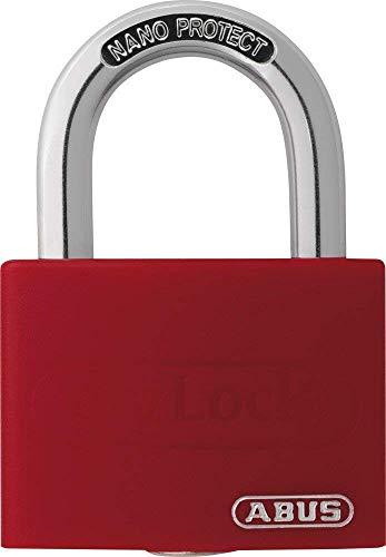 ABUS 508707 - T65AL/40_ROJO Candado My Lock aluminio 40 mm Rojo