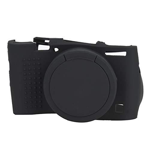 Funda para cámara, 1 PCS Funda negra para cámara Funda protectora de silicona duradera y estirable para cámara, V M3 para M4 RX100 III IV M5