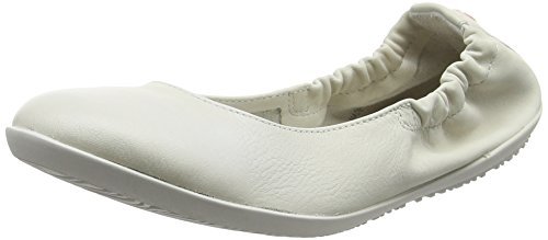 Softinos Damen ONA380SOF Geschlossene Ballerinas, Weiß (White), 39 EU