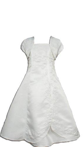 Cinda Mädchen Brautjungfer/Heilige Kommunion Kleid Elfenbein 158-164