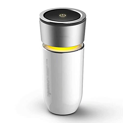 BLJ-Car Purificador de Aire del Coche, purificador del ambientador de Aire del generador de Iones de automóviles con Puertos de Carga de 5V 1A para teléfonos celulares u Otros Dispositivos USB