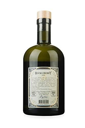 Huckleberry Gin 44% vol (1 x 0.5 l) - Pure Friendship and Blueberries - 2