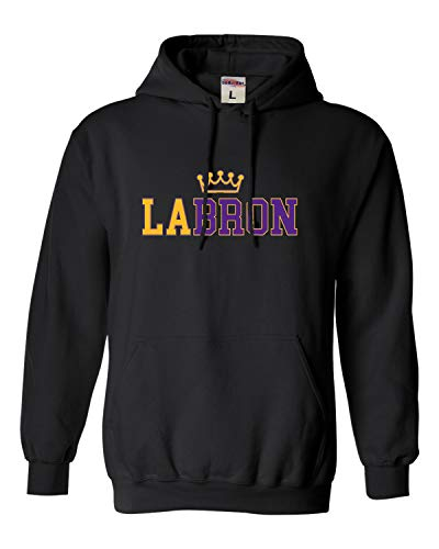Go All Out Large Black Adult LABRON Sweatshirt Hoodie