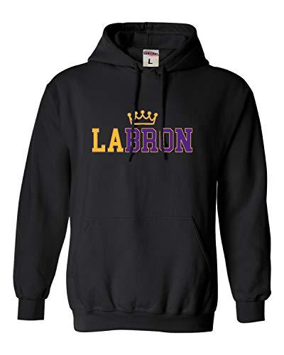 Go All Out Medium Black Adult LABRON Sweatshirt Hoodie