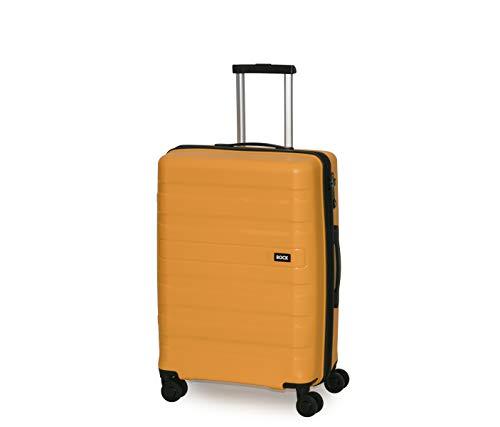 Rock Skylar 67cm Hardshell Medium Suitcase Yellow