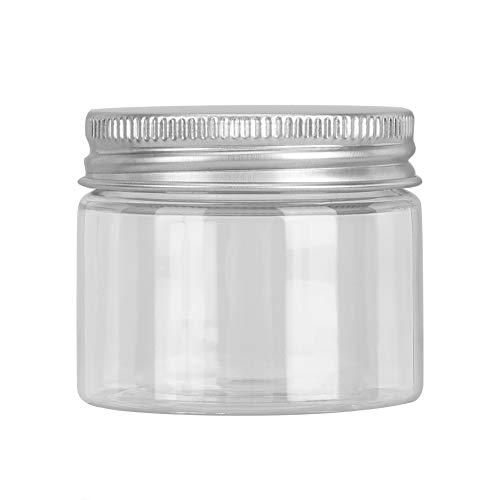 ANGGREK Vide Clair En Plastique Conteneurs D'échantillons Maquillage DIY Vide Cosmétique Liquide Crème Conteneurs Portable Échantillon Bouteille De Stockage(50ML)