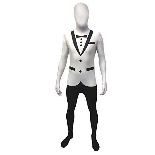 Morphsuits Smokinganzug, originelles und bestes Kostüm, ideal für Halloween, Schulabschluss oder Junggesellenabschied - Mehrfarbig - Medium
