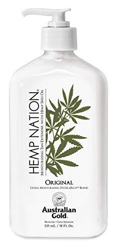 Hemp Nation - Originale Tan Extender, Amplificatore di abbronzatura, Crema per il Corpo, 535ml