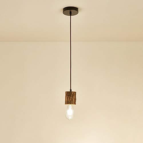 Hines Lámpara Colgante De Resina Decoración Ajustable Lámpara De Techo E27 Interior Vintage Lámpara Colgante Simplicidad Moderna Lámpara Colgante De Techo Linterna Dormitorio Mesita De Noche Luz