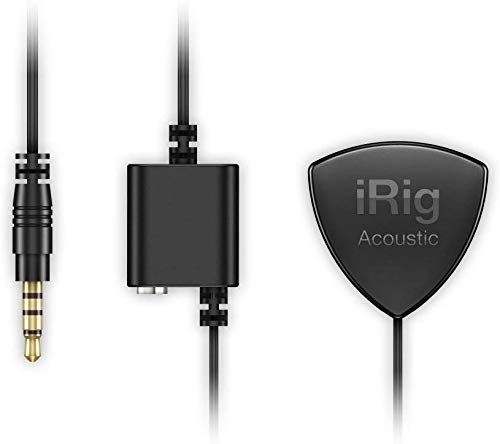 IK Multimedia iRig Acoustic Guitar Microphone/Interface for iPhone, iPad & iPod Touch