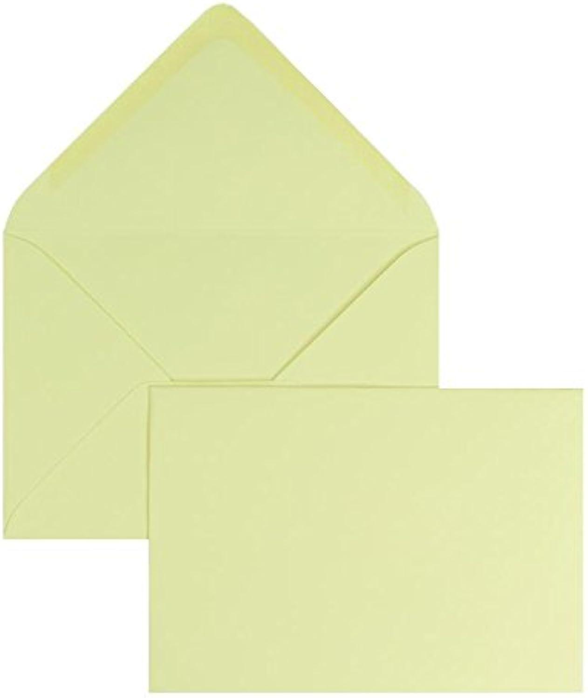 Blanke Briefhüllen - 100 Briefhüllen im Format 120 120 120 x 180 mm in Saharagelb B00FPO5WO0 | Feine Verarbeitung  e4dff7