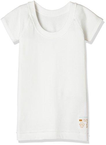 [グンゼ] 半袖インナー アトネス 綿100% 日本製 ガールズ オフホワイト 日本150 (日本サイズ150相当)