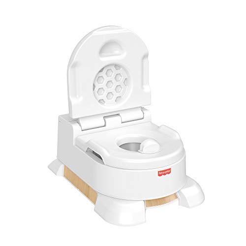 Fisher-Price Orinal aprende a ir al baño, para bebés y niños (Mattel HBX68), Embalaje sostenible