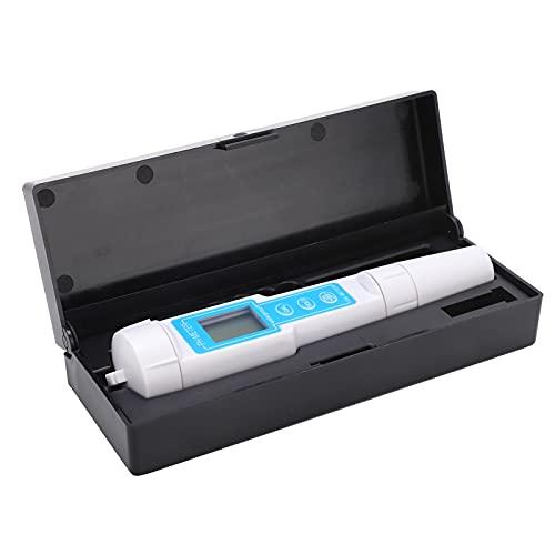 Agatige Medidor TDS Probador de Agua Digital, K13 Probador de Calidad de Agua multifunción Medidor HPH portátil para el hogar Prueba de acidez Pluma 0.01 Precisión 3V