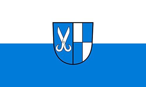 Unbekannt magFlags Tisch-Fahne/Tisch-Flagge: Jungingen 15x25cm inkl. Tisch-Ständer