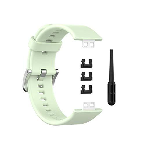 XUEMEI Reloj Fit Soft Silicone Strap Watch Band Pulsera Strap Sport Reemplazo De Accesorios para Huawei Watch Fit (Color : 05)