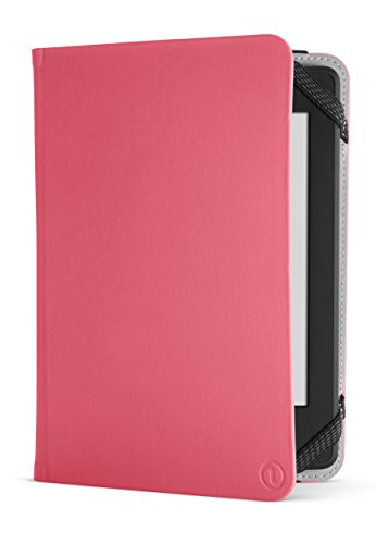 NuPro Amazon Kindle Paperwhite Case - Lightweight Durable Slim Folio Cover (fits Kindle and Kindle Paperwhite), Pink
