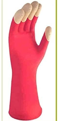 Guante de limpieza con extracto de karité, flexibilidad máxima, talla L, juego de 4 pares