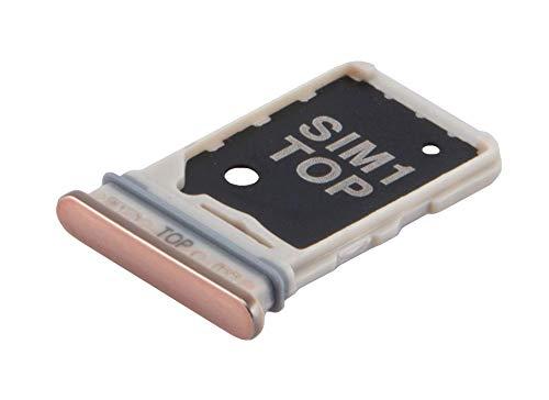 ICONIGON Ersatz für Galaxy A80 SIM-Kartenhalter inkl. Dichtung (Gold)
