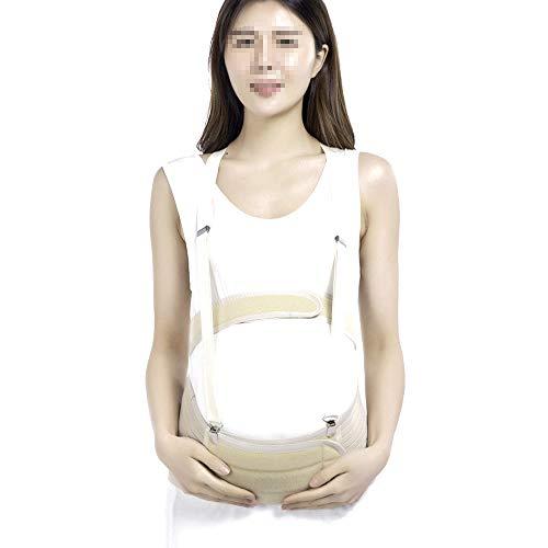 LUCKY-MTYSPS Ceinture de Grossesse, Soutien Abdominal, soulagement des maux de Dos, Ceinture pelvienne, élastique, Confortable, Respirante,L(90-140jin)