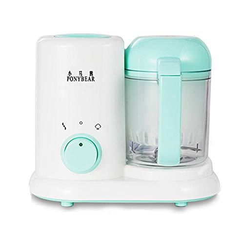 Womdee Babynahrungszubereiter, 2 in 1 Küchenmaschine, Babynahrung Dampfgarer und Mixer,Küchenmaschine, Standmixer mit Groß Fassungsvolumen BPA-frei, Dampfgaren und Mixen