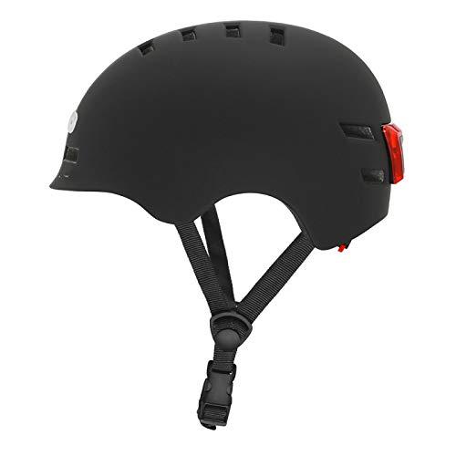 Helmet Bike Adult Cycling Helmet Integrally Molded Helmet Aerodynamics Pneumatic Helmet Men Sports Aero Bicycle Helmet M(54CM-62CM) Black