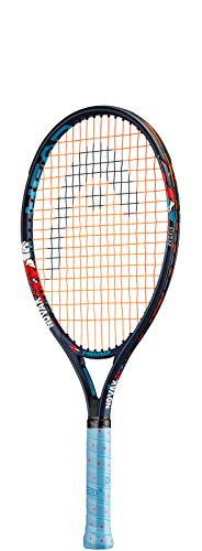 Head Novak 21 Raqueta de Tenis, Infantil, Azul, 53 cm