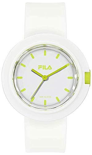 Fila Reloj Analógico para Unisex Adultos de Cuarzo con Correa en Silicona FILA38-109-002