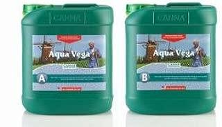 CANNA Aqua Vega A/B, 2 x 5 lt