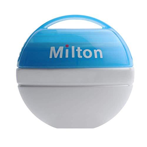Milton Portable Soother Steriliser + 10 Mini Sterilising Tablets Free!! (Blue)