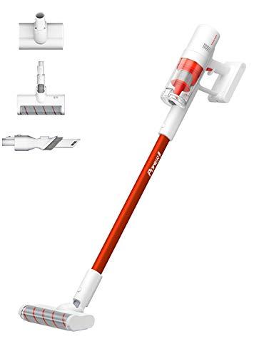 TROUVER Power 11 Akku Stabstaubsauger, 20000Pa starke Saugkraft bis zu 60 Minuten, LED-Anzeige, 3 in 1 kabellos Handstaubsauger, Besonders leiser Handstaubsauger für Hartboden,Teppich,Auto,Tierhaare