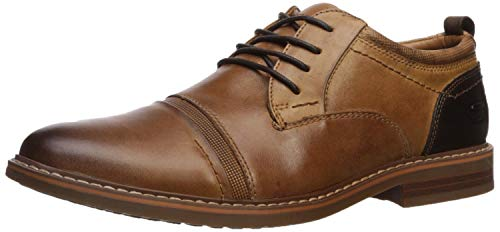 Skechers Herren Bregman-SELONE Street Dress Collection Oxford, Tan, 43 EU