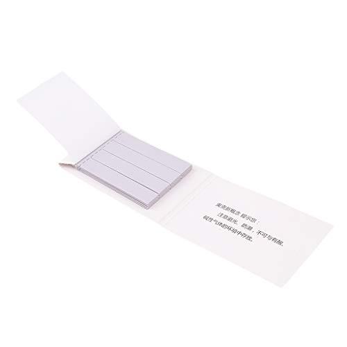 Almencla 40 Stück Blaue Lackmuspapiere Streifen Säuretest PH 4,5 Indikator 6cm