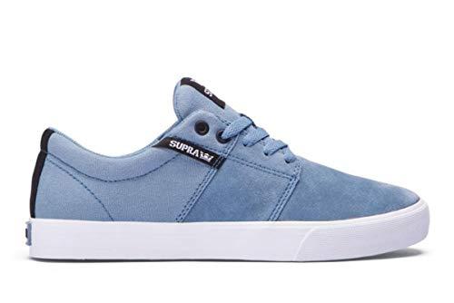 Supra Skateboard Schuhe Stacks Vulc2 Slate White, Schuhgrösse:44