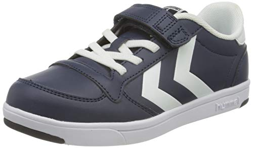 hummel Unisex-Kinder Stadil Light Quick JR Sneaker, Black IRIS,36 EU