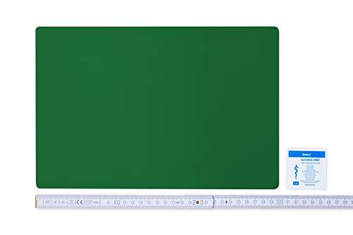 Flickly Anhänger Planen Reparatur Pflaster | in vielen Farben erhältlich | 30cm x 20cm | SELBSTKLEBEND (smaragdgrün)
