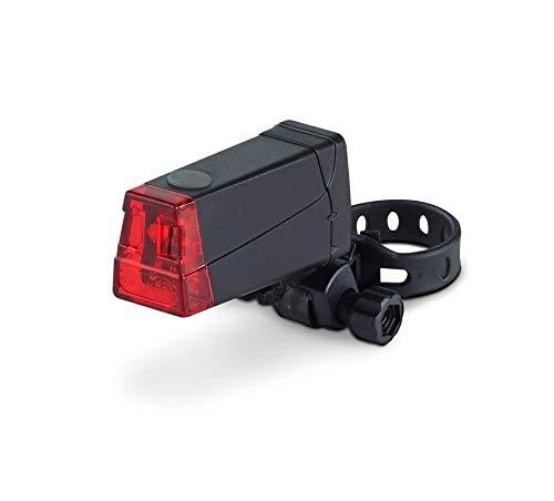 DANSI LED Fahrrad-Batterieleuchtenset, StVZO, schwarz, 44001 - 3