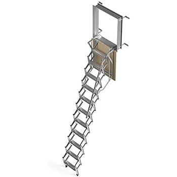 Mister Step Escalera escamoteable para buhardillas ADJ (100 x 80 cm.): Amazon.es: Hogar
