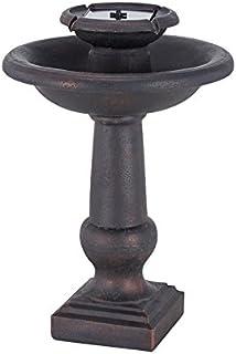 Smart Solar 24260RM1 Chatsworth 2 Tier On Demand Fountain Oiled Bronze