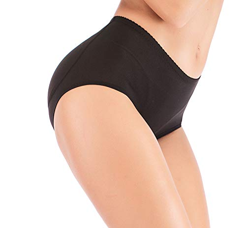FIRSTLIKE Hüftpolster, für Damen, Silikon, zum Abnehmen von Gesäß, Formbekleidung, Formbekleidung, für Damen - schwarz - Klein