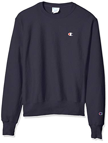 Champion LIFE Men's Reverse Weave Sweatshirt, Navy, X-Large