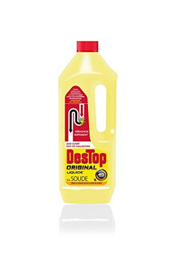 DESTOP Lot de 2 Gels Déboucheur Canalisation Liquide - 1L